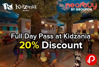 Full Day Pass at Kidzania 20% Discount - Nearbuy