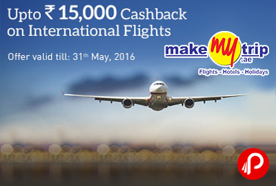 Makemytrip discount coupon international flights