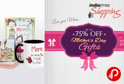 Mother's Day Gifts Upto 75% off - Indiatimes Shopping