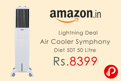 Air Cooler Symphony Diet 50T 50 Litre Only in Rs.8399 - Amazon