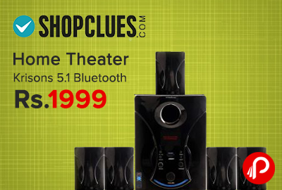 Home Theater Krisons 5.1 Bluetooth only in 1999 - Shopclues