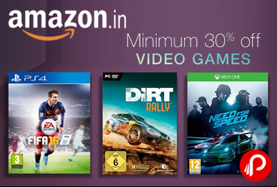 Video Games Great Deals Minimum 30% off - Amazon