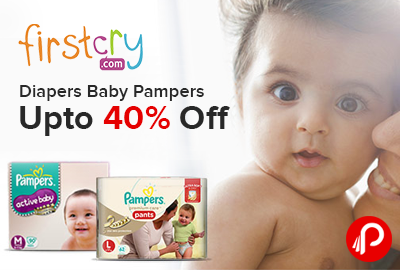 Diapers Baby Pampers Upto 40% off - FirstCry