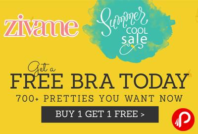 Get a Free Bra Today Buy 1 Bra Get 1 Free - Zivame