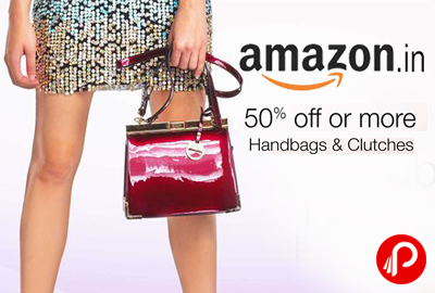 Handbags & Clutches 50% off or more - Amazon