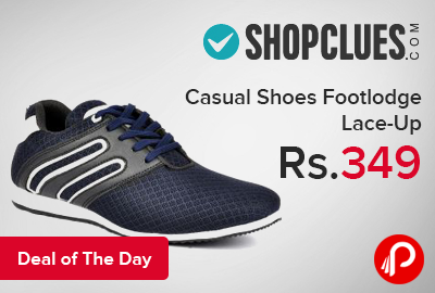 Casual Shoes Footlodge Lace-Up just at Rs.349 - Shopclues