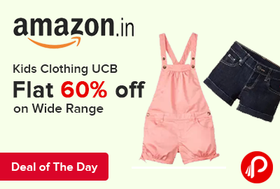 Kids Clothing UCB Flat 60% off on Wide Range - Amazon