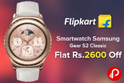 b5c5d94e2 Smartwatch Samsung Gear S2 Classic - Best Online Shopping deals ...