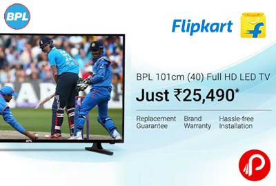 "LED TV BPL Vivid 40"" Full HD Just Rs.25490 - Flipkart"
