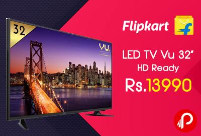 """LED TV Vu 32"""" HD Ready just at Rs.13990 - Flipkart"""