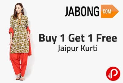 b384d498b86 Buy 1 Get 1 Free Jaipur Kurti - Jabong