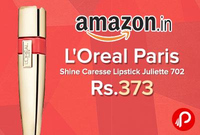 L'Oreal Paris Shine Caresse Lipstick Juliette 702
