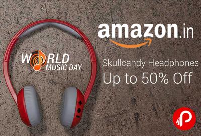 Flipkart Skullcandy Headphones Upto 50% off