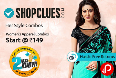 Womens Apparel Combos Starts @ Rs.149 - Shopclues