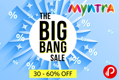 Myntra The Big Bang Sale