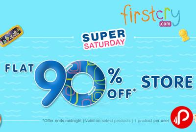 Flat 90% off Store | Super Saturday - Firstcry