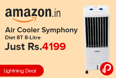Air Cooler Symphony Diet 8T 8-Litre Just Rs.4199 - Amazon