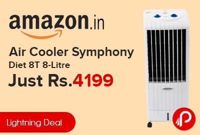 Air Cooler Symphony Diet 8T 8-Litre Just Rs.4199 - Amazon