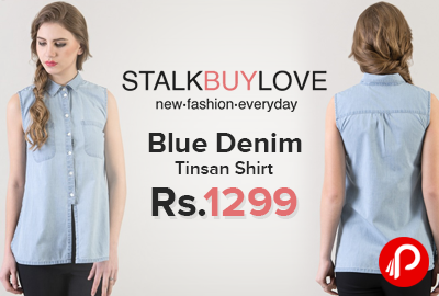 Blue Denim Tinsan Shirt