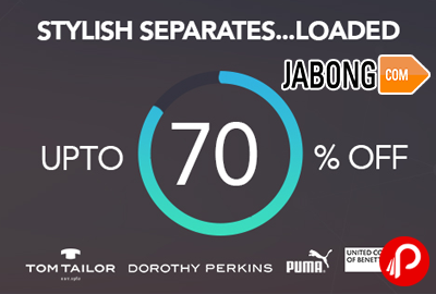 Stylish Separates Loaded Upto 70% off - Jabong