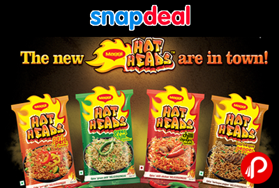Maggi Hot Heads in 4 New Flavours Combo! Hot Heads are Here - Snapdeal