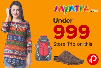 Myntra Under 999 Store