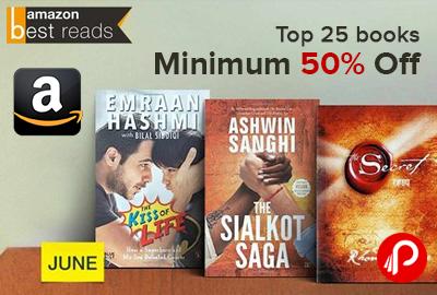 Top 25 Books Minimum 50% off | Amazon Best Reads - Amazon