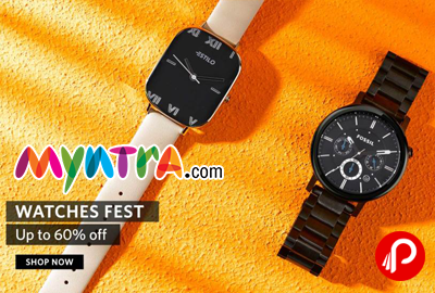 Myntra Watches Fest