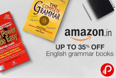 English Grammar Books Upto 35% off - Amazon