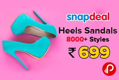 0d9c4a1db75 High on Heels Sandals 8000+ Styles Below Rs.699 - Snapdeal