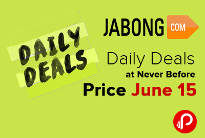 Daily Deals at Never Before Price June 15 - Jabong