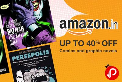 Comic Books & Graphics Novels Upto 40% off