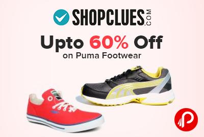 Upto 60% off on Puma Footwear - Shopclues 7a0b83a13