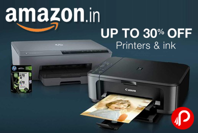 Printers & Ink Upto 30% off - Amazon
