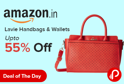 Lavie Handbags & Wallets Upto 55% off - Amazon