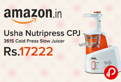Usha Nutripress CPJ 361S Cold Press Slow Juicer