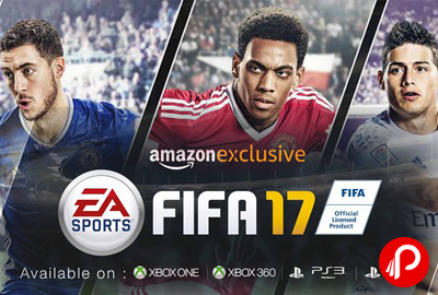 FIFA 2017 Standard Edition PS4 Video Games Just Rs.3999 - Amazon