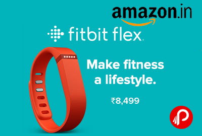 Fitbit Flex Wireless Activity Tracker and Sleep Wristband Just Rs.8499 - Amazon