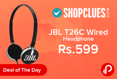 004d0cb8d45 JBL T26C Wired Headphone Only in Rs.599 – Shopclues