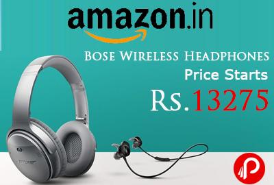 Bose coupons india