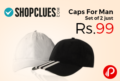 Caps For Man Set Of 2 Just Rs99 Shopclues