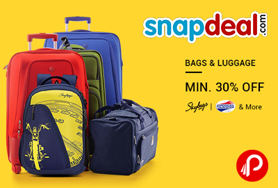 ff31b5a86a465c Bags   Luggage Minimum 30% off - Snapdeal