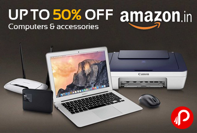 Computers & Accessories Upto 50% off | 48 hr Sale - Amazon
