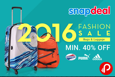 Snapdeal 2016 Fashion Sale