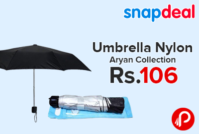 Umbrella Nylon Aryan Collection only at Rs.106 - Snapdeal