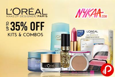 L'Oreal Makeup Designer Paris Kits & Combos Upto 35 % off – Nykaa