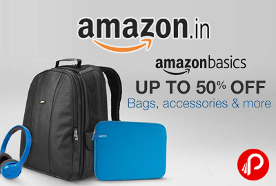 AmazonBasics Upto 50% off on Bags, Accessories - Amazon