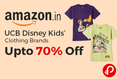 UCB Disney Kids' Clothing Brands Upto 70% off - Amazon