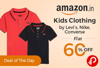 Kids Clothing by Levi's, Nike, Converse Flat 60% off - Amazon