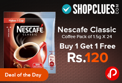 Nescafe Classic Coffee Pack of 1.5g